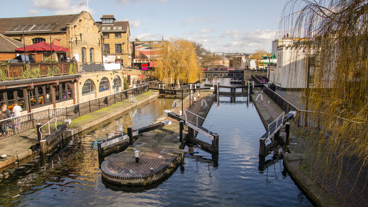 A photo of Camden Town