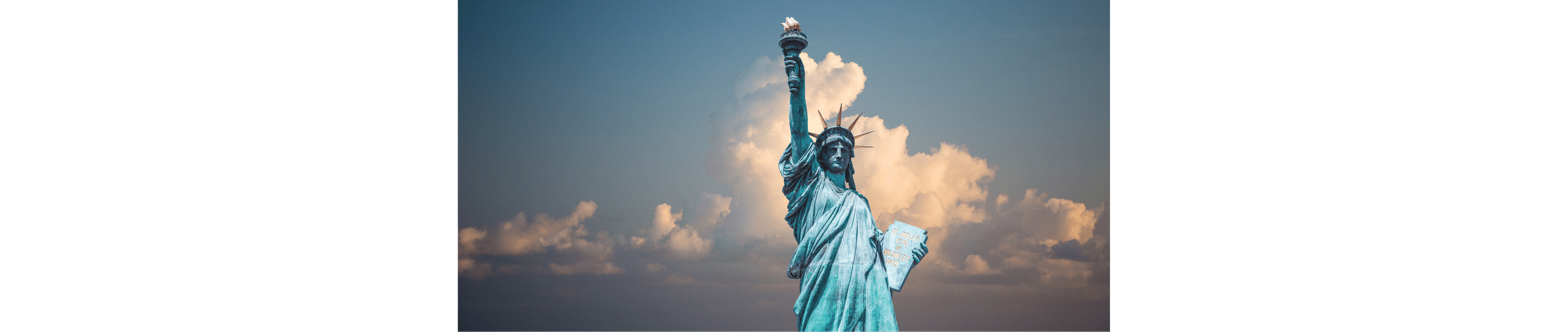 Image of the statue of liberty in New York