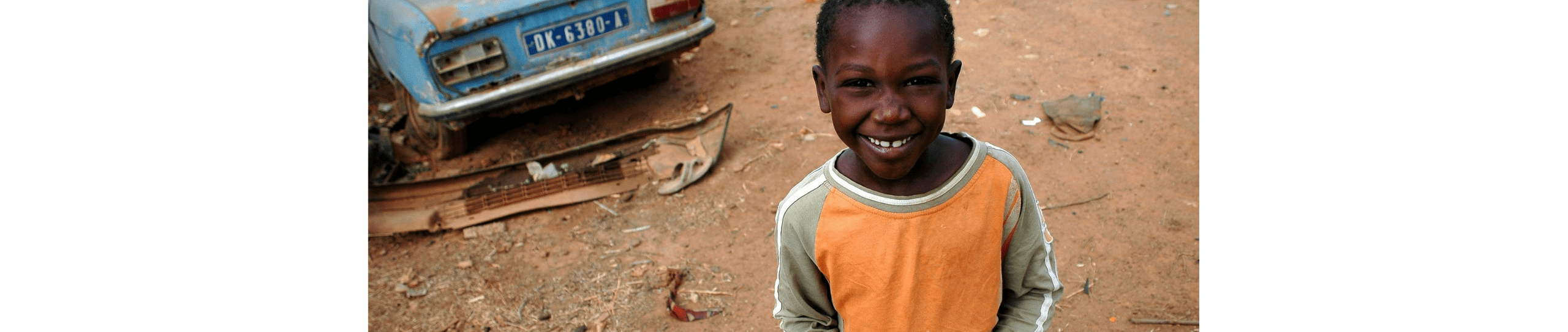 Image of boy from Senegal